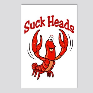 Suck Heads Postcards (Package of 8)