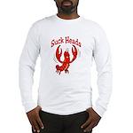 Suck Heads Long Sleeve T-Shirt