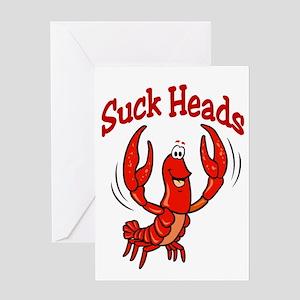 Suck Heads Greeting Card