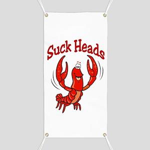 Suck Heads Banner