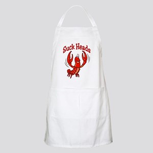 Suck Heads BBQ Apron