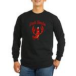 Suck Heads Long Sleeve Dark T-Shirt
