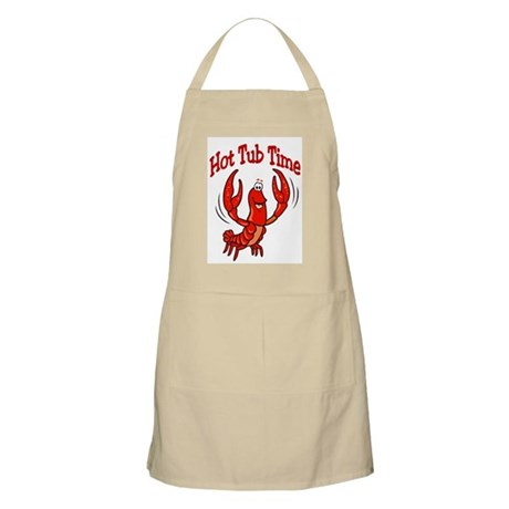 Crawfish Hot Tub BBQ Apron