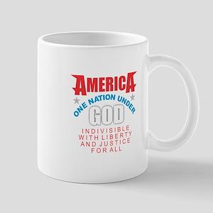 America Under God Mugs