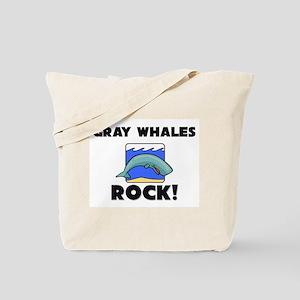 Gray Whales Rock! Tote Bag