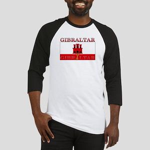 Gibraltar Flag Baseball Jersey