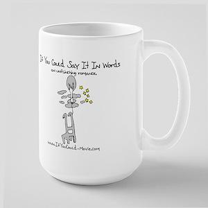 'If You Could' Large Mug