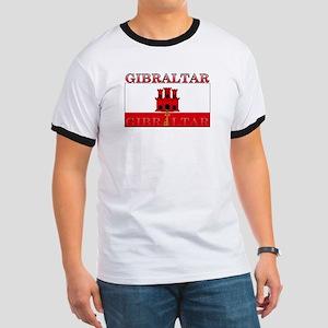 Gibraltar Flag Ringer T
