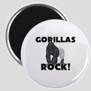Gorillas Rock! Magnet