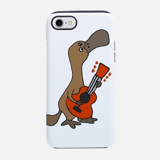 Duck-Billed Platypus Guitar iPhone 8/7 Tough Case