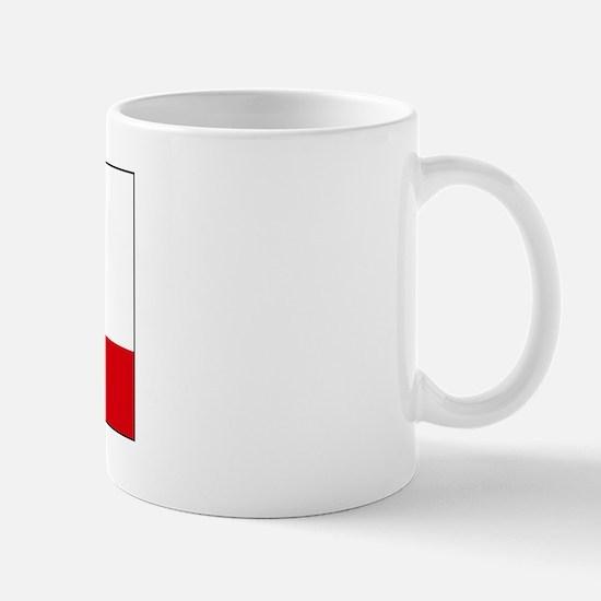 Gibraltar Blank Flag Mug