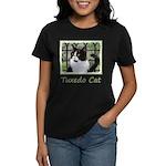 Tuxedo Cat in Window Women's Classic T-Shirt