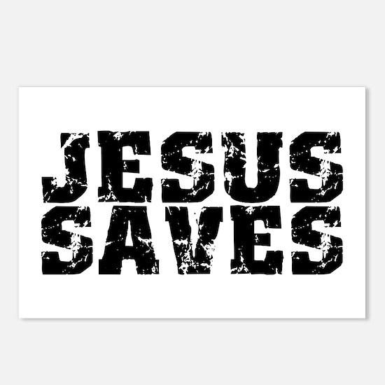 Jesus Saves bk Postcards (Package of 8)