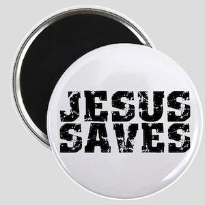 Jesus Saves bk Magnet