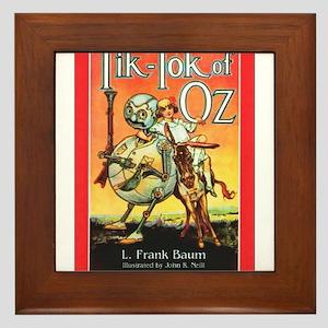 Tik - Tok Of Oz Framed Tile