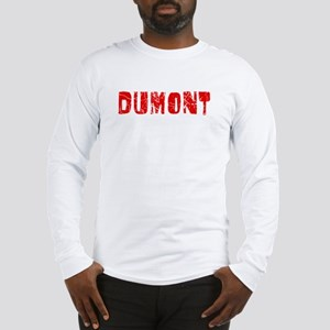 Dumont Faded (Red) Long Sleeve T-Shirt