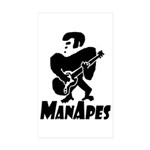 ManApes Sticker (Rectangle 50 pk)