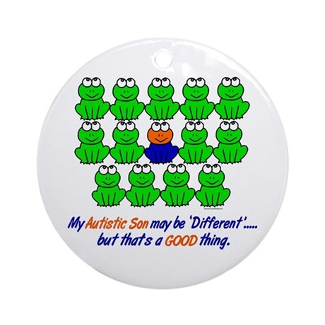 Different FROGS 1 (Son) Ornament (Round)