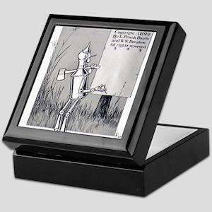 Tin Man Keepsake Box