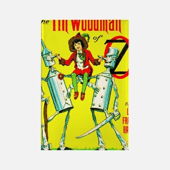 Woodman Rectangle Magnet