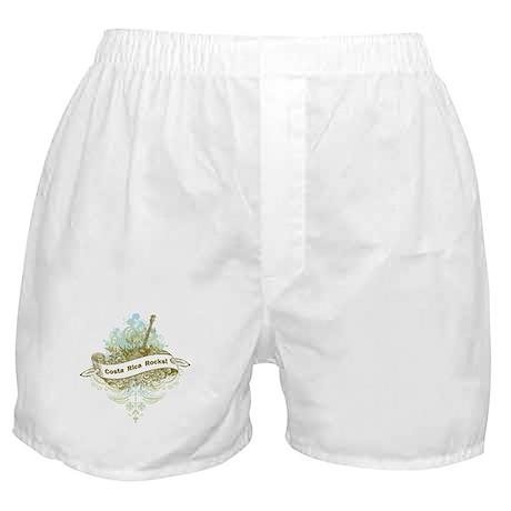 Costa Rica Rocks Boxer Shorts