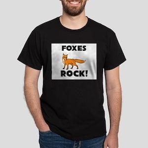 Foxes Rock! Dark T-Shirt