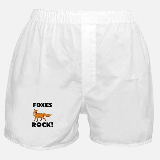 Foxes Rock! Boxer Shorts