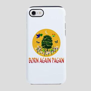 Born Again Pagan Sun Tree iPhone 8/7 Tough Case