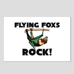 Flying Foxs Rock! Postcards (Package of 8)
