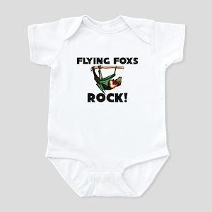 Flying Foxs Rock! Infant Bodysuit