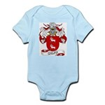 Calvo Family Crest Infant Creeper