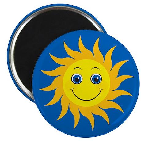 Smiling Mr. Sun Magnet