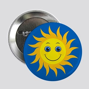 """Smiling Mr. Sun 2.25"""" Button"""