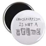 Conservatism is not a Crime Magnet