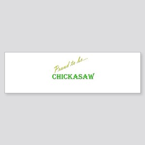 Chickasaw Bumper Sticker (10 pk)