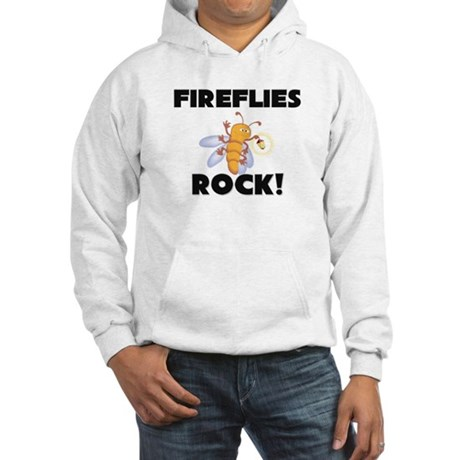 Fireflies Rock! Hooded Sweatshirt