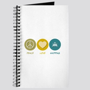 Peace Love Shipping Journal