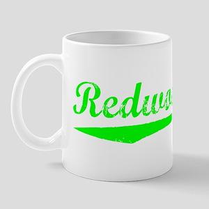 Vintage Redwood City (Green) Mug