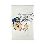 Conservatism Police Rectangle Magnet (10 pack)