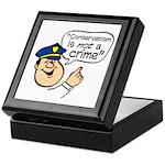 Conservatism Police Keepsake Box