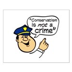 Conservatism Police Small Poster