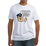 Conservatism Police Fitted T-Shirt