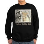 Yellow Tabby Cat Sweatshirt (dark)