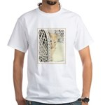 Yellow Tabby Cat Men's Classic T-Shirts