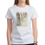 Yellow Tabby Cat Women's Classic T-Shirt