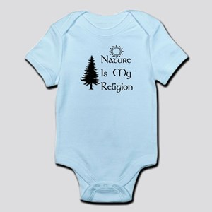 Nature Is My Religion Baby Light Bodysuit