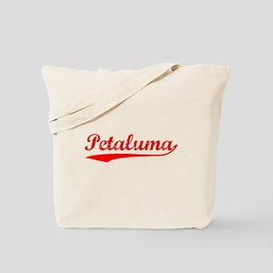 Vintage Petaluma (Red) Tote Bag