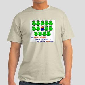Different FROGS 1 (Children) Light T-Shirt