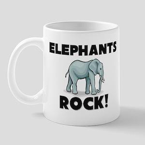 Elephants Rock! Mug