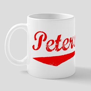 Vintage Petersburg (Red) Mug